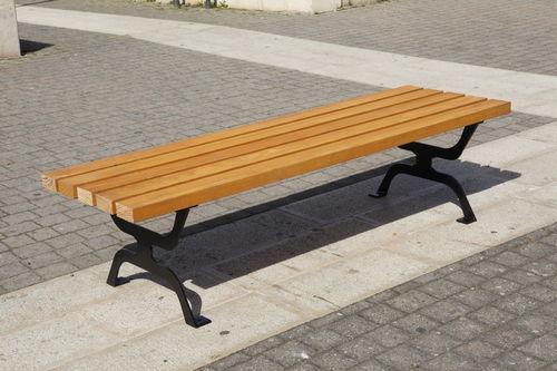 公共ベンチ / ガーデン用 / 更衣室用 / コンテンポラリー