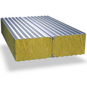 建物の正面用合板パネル / 壁用 / 天井用 / 金属面