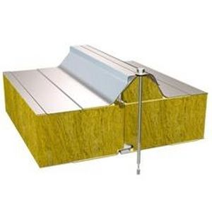 屋根用合板パネル / 金属面 / グラスウール製芯 / 不燃