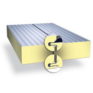 壁用合板パネル / 亜鉛めっき鋼製 / ポリイソシアヌレート(PIR)製芯