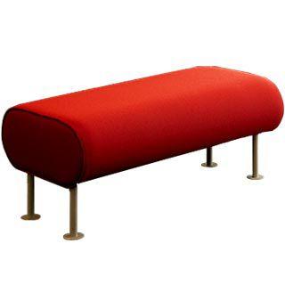 モジュール式布張りベンチ / コンテンポラリー / 布製 / 金属製