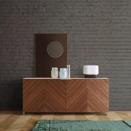 コンテンポラリーサイドボード / 漆木材