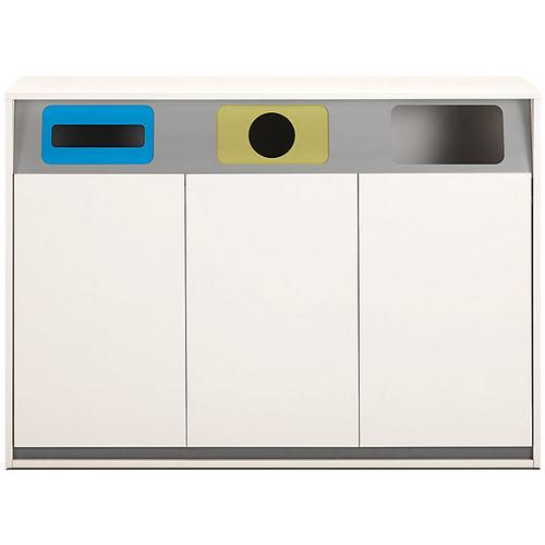 金属製ゴミ箱 / リサイクル / オフィス用