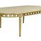 ルイ16世スタイル食卓テーブル / 木製 / 長方形 / 円形