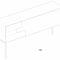 コンテンポラリーサイドボード / オーク材 / MDF / 明清色の木製