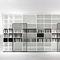 コンテンポラリーテレビ壁ユニット / 木製 / 漆木材 / Piero Lissoni 作