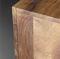 コンテンポラリーサイドボード / オーク材 / クルミ材 / スチール製