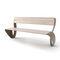 公共ベンチ / コンテンポラリー / 亜鉛めっき鋼製 / 木材・プラスチック複合材