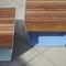 コンテンポラリースツール / 木製 / 亜鉛めっき鋼製 / 公共スペース用