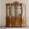 クラシック食器棚 / ガラス製 / 木製