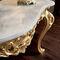 クラシックサイドボードテーブル / 木製 / 長方形 / ゴールド