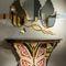 伝統的サイドボードテーブル / ソリッド ウッド製 / 楓材製 / 黒檀製