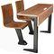 コンテンポラリーテーブルチェアセット / 木製 / スチール製 / 学校用 WD-118 & TB-618  Gauss Furniture