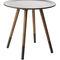 コンテンポラリーサイドテーブル / 木製プレート製 / ベニヤ板 / 円形