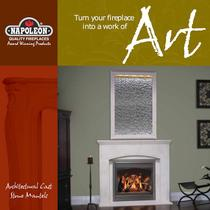 Architectural cast stone mantels
