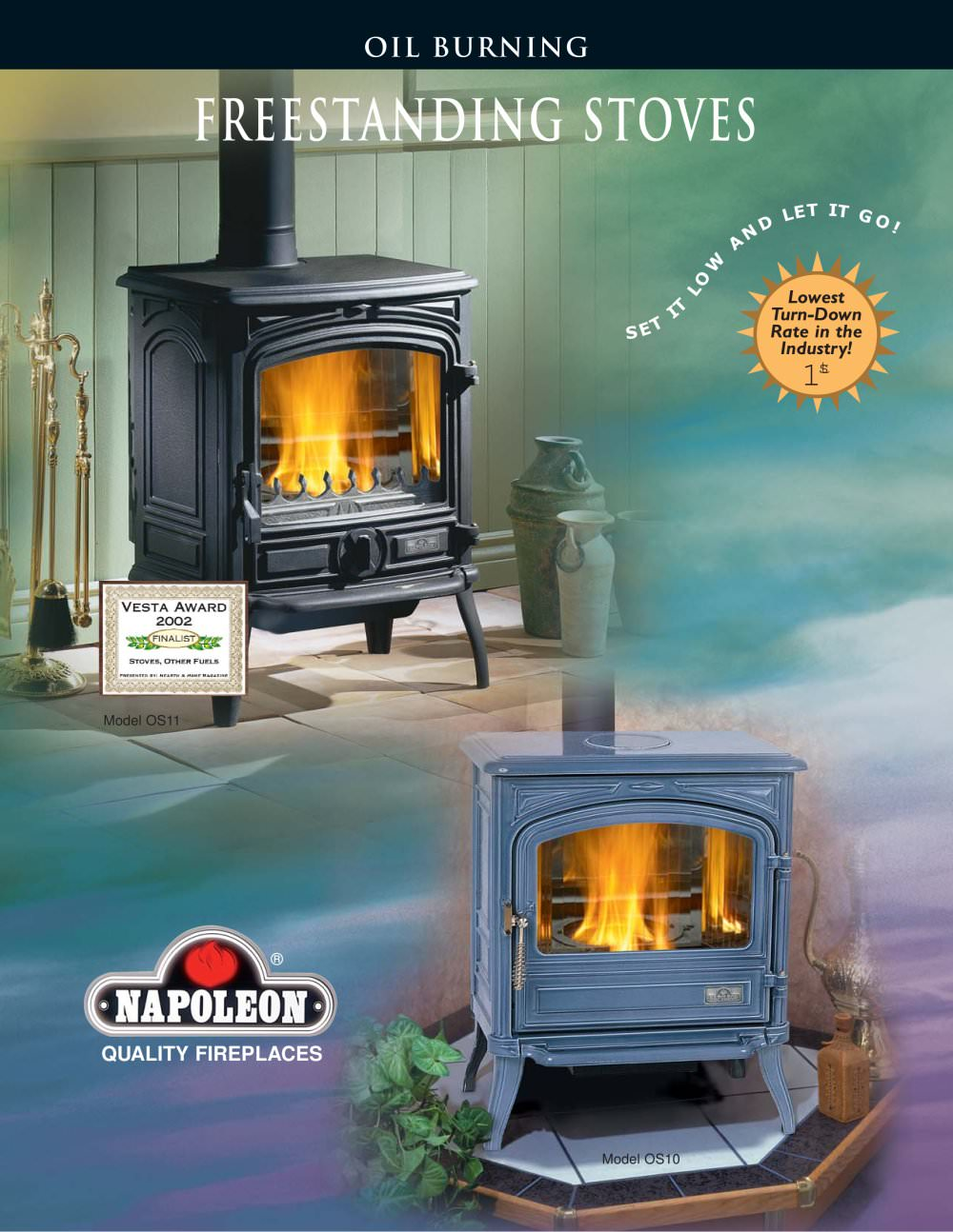 oil stove brochure napoleon fireplaces pdf catalogues