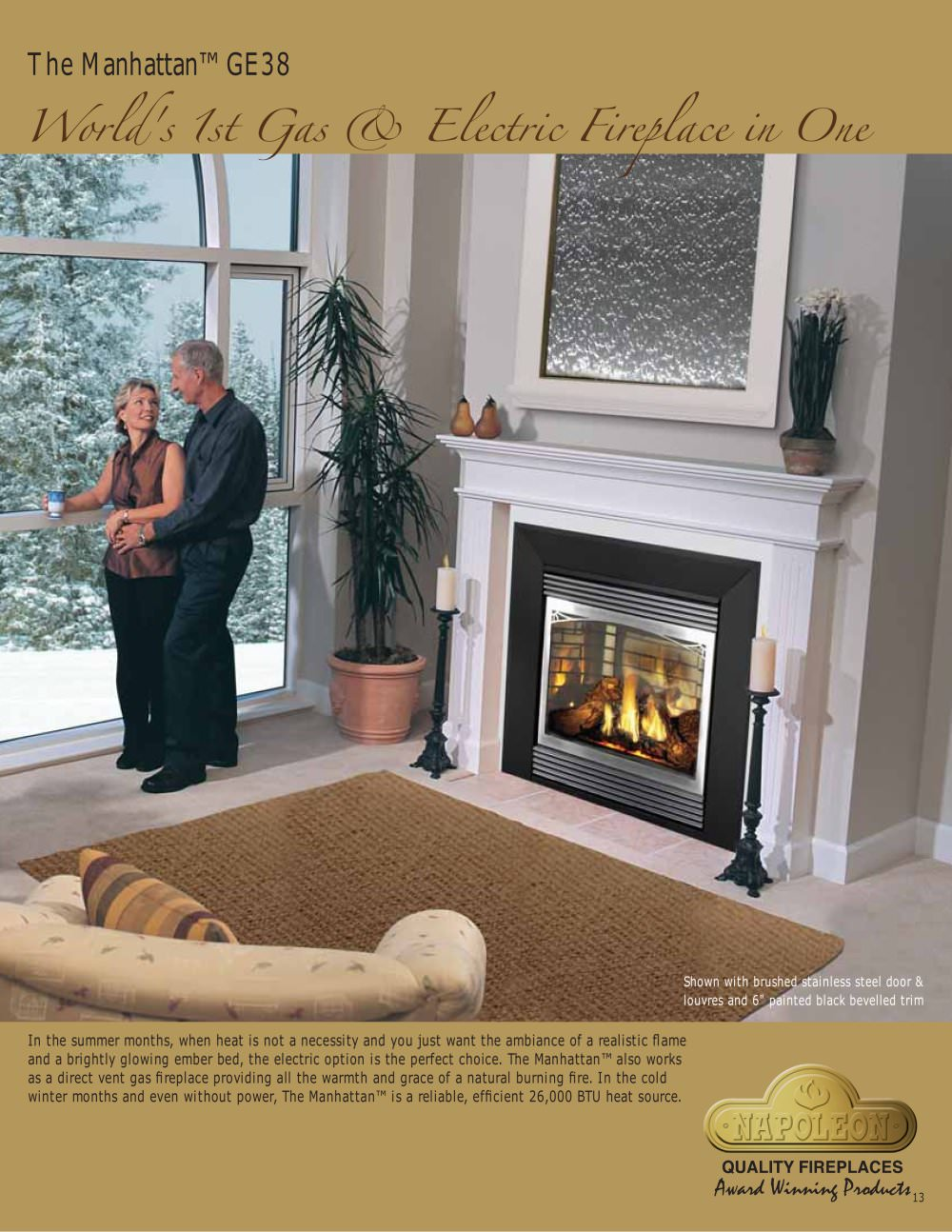 Majestic Products | Fireplaces | Gas