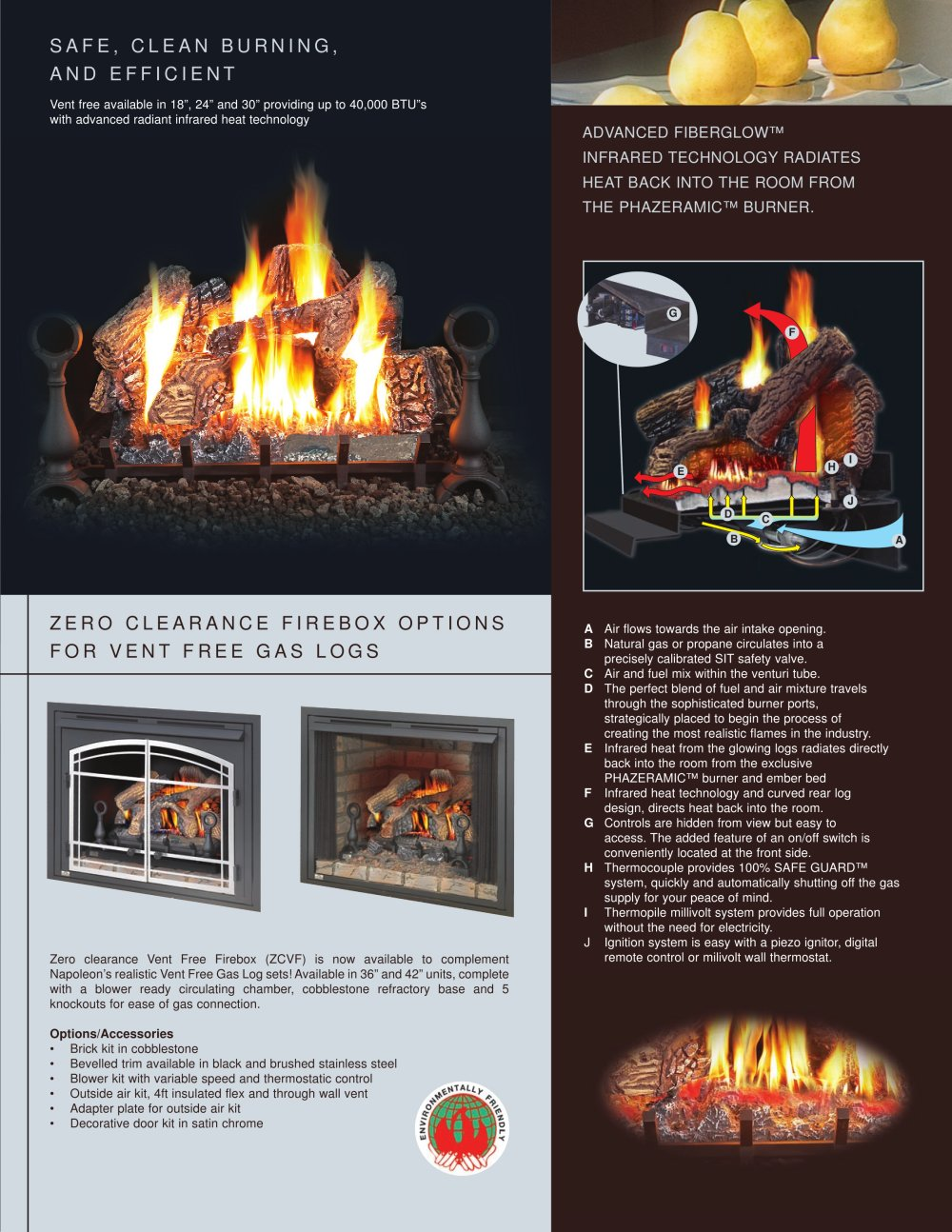 Vent Free Gas Logs - Facts About Unvented Gas Log Fireplaces