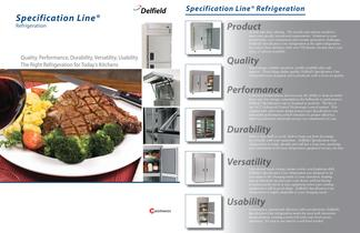 Specification Line® Refrigeration