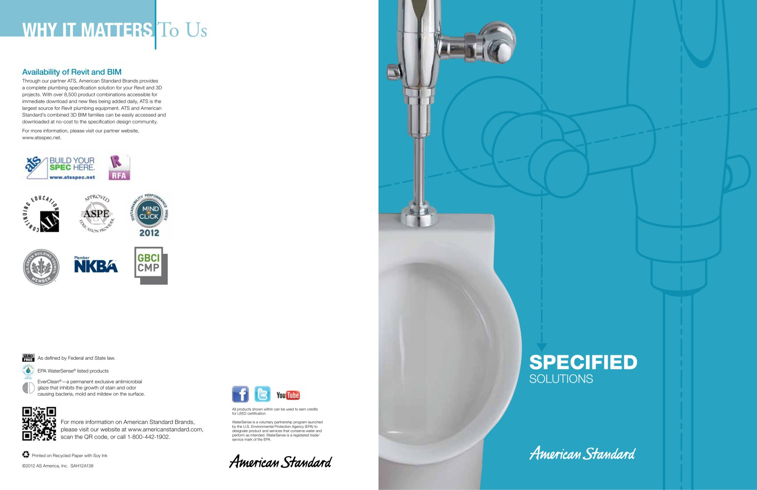 SPECIFIED SoLUTIonS - AMERICAN STANDARDS - PDF Catalogues ...
