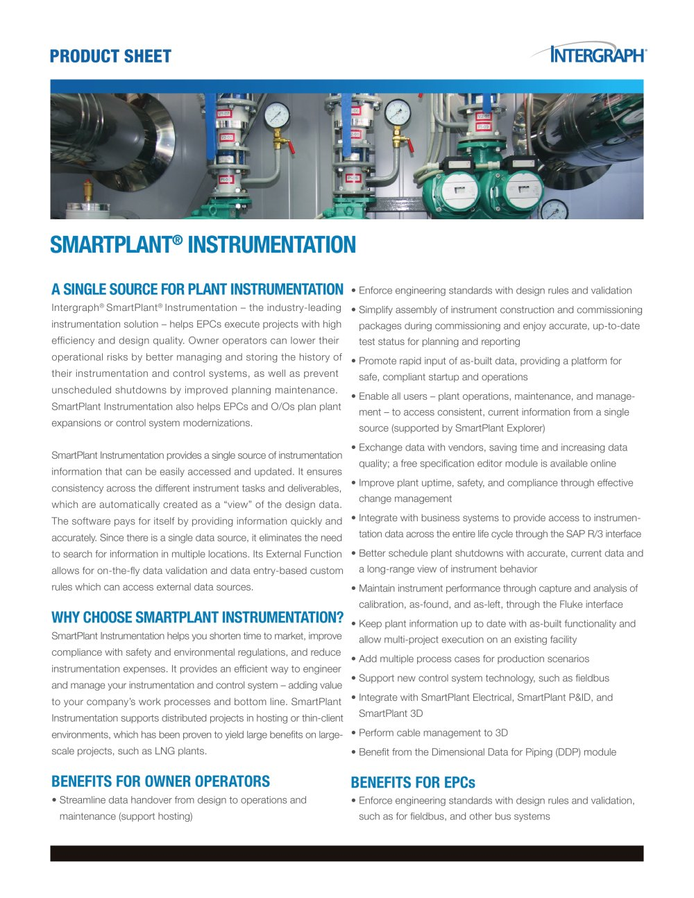 smart plant instrumentation