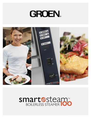 SmartSteam100 Boilerless Steamer 
