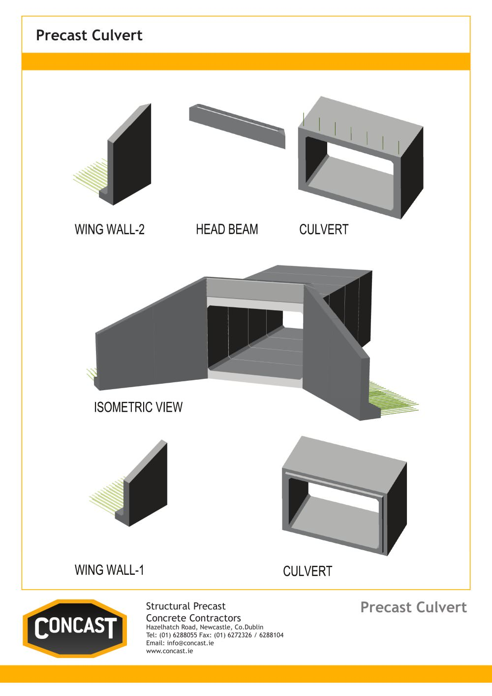 Wing walls concast pdf catalogues documentation brochures wing walls 1 1 pages ccuart Images