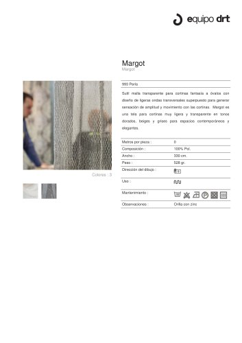 Margot 993 Perla