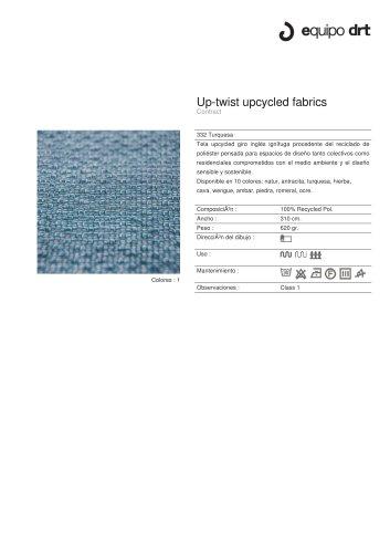 Up-twist upcycled fabrics