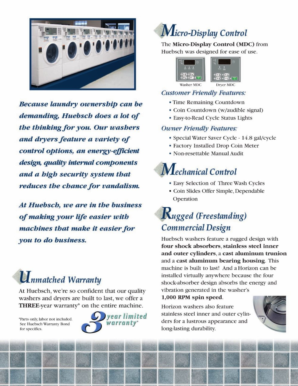 Coin commercial industrial operated laundry laundries laundromat