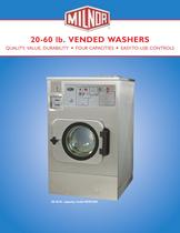 20-60 lb. Vended Washer