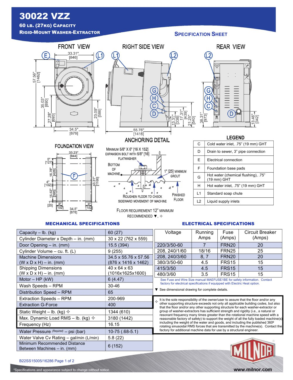 30022vzz milnor pdf catalogues documentation brochures rh pdf archiexpo com Gas Dryer Wiring Diagram Kenmore Dryer Heating Element Wiring-Diagram