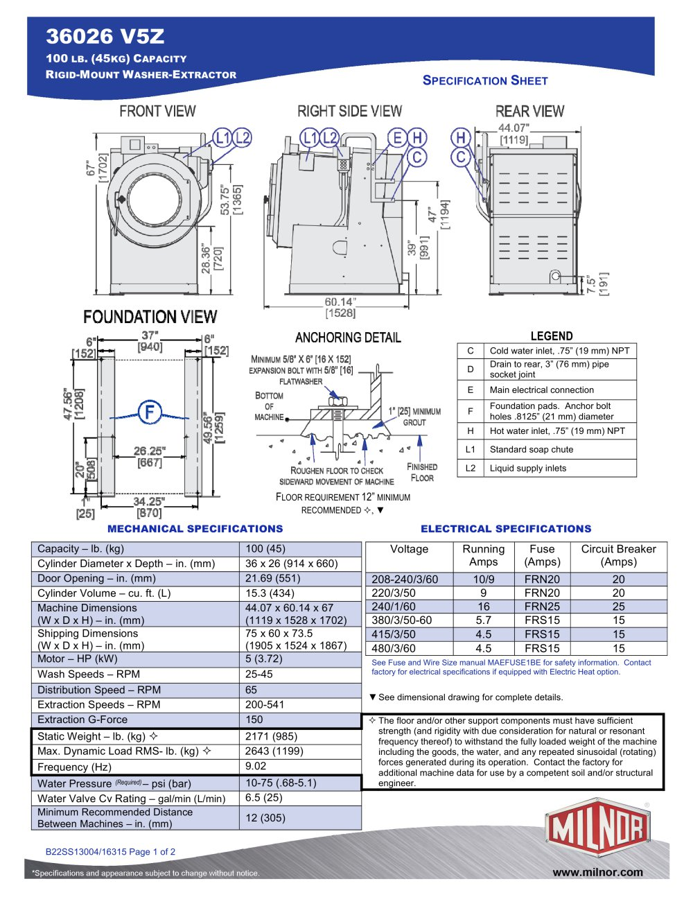 36026v5z milnor pdf catalogues documentation brochures rh pdf archiexpo com Dryer Plug Wiring Diagram 4 Prong Dryer Wiring Diagram