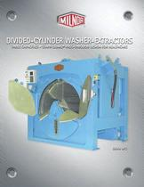 Divided Cylinder Washer-Extractor