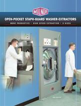 Open Pocket Staph Guard Washer-Extractor