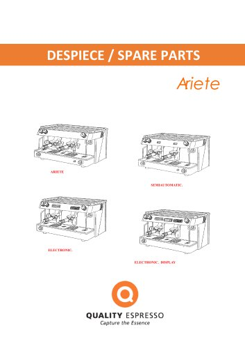 DESPIECE / SPARE PARTS Ariete