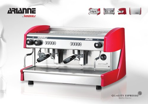 Mairali Arianne Espresso Coffee Machine