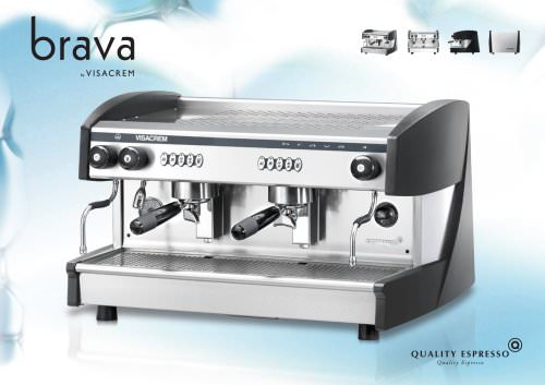 Visacrem Brava Espresso Coffee Machine
