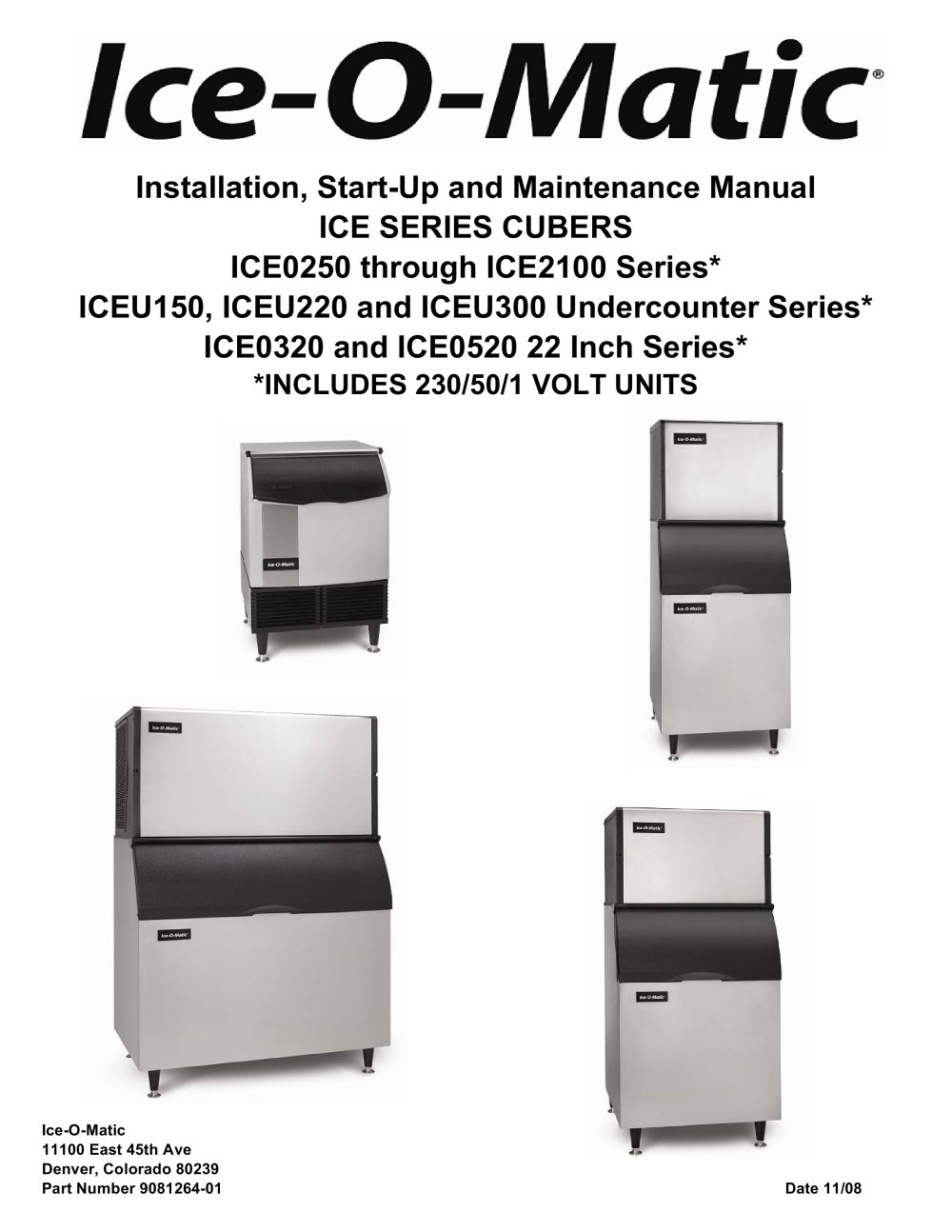 iceu150 iceu220 iceu300 undercounter series 106605_1b iceu150, iceu220 and iceu300 undercounter series* ice o matic  at bayanpartner.co