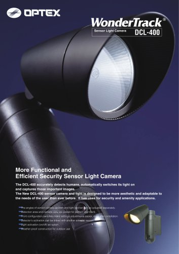 WonderTrack- Sensor Light Camera