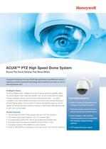 ACUIX PTZ High Speed Dome System