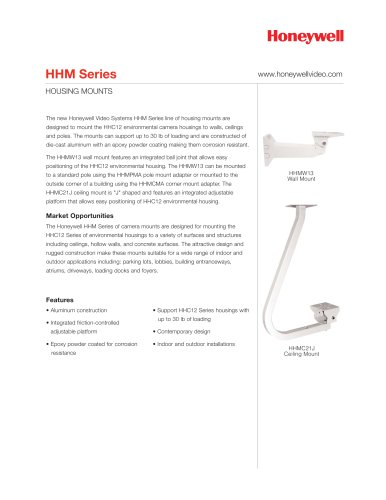 HHM Series Housing Mounts