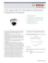 LTC 13xx and LTC 14xx Series FlexiDome Fixed Dome Cameras