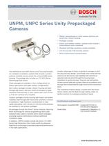 UNPM, UNPC Series Unity Prepackaged Cameras