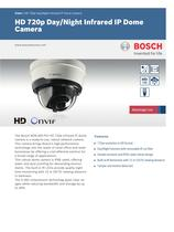 Vidéo/IP Cameras:HD 720p Day/Night Infrared IP Dome Camera