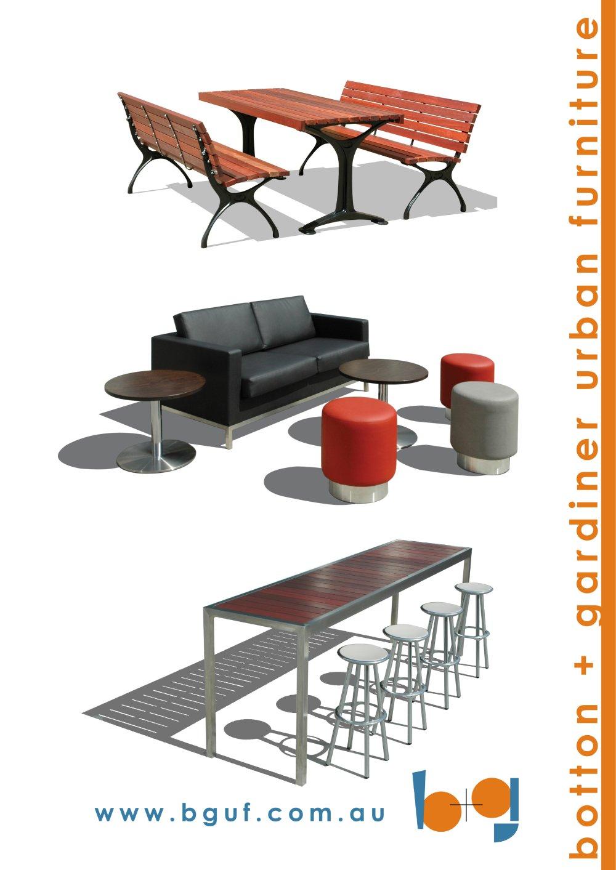 Botton + Gardiner Urban Furniture   1 / 36 Pages