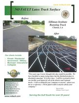 Regulation Running Track Surfaces