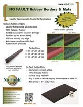 Rubber Border Timbers