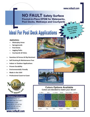 Waterplay &amp; Pool Deck Surfaces