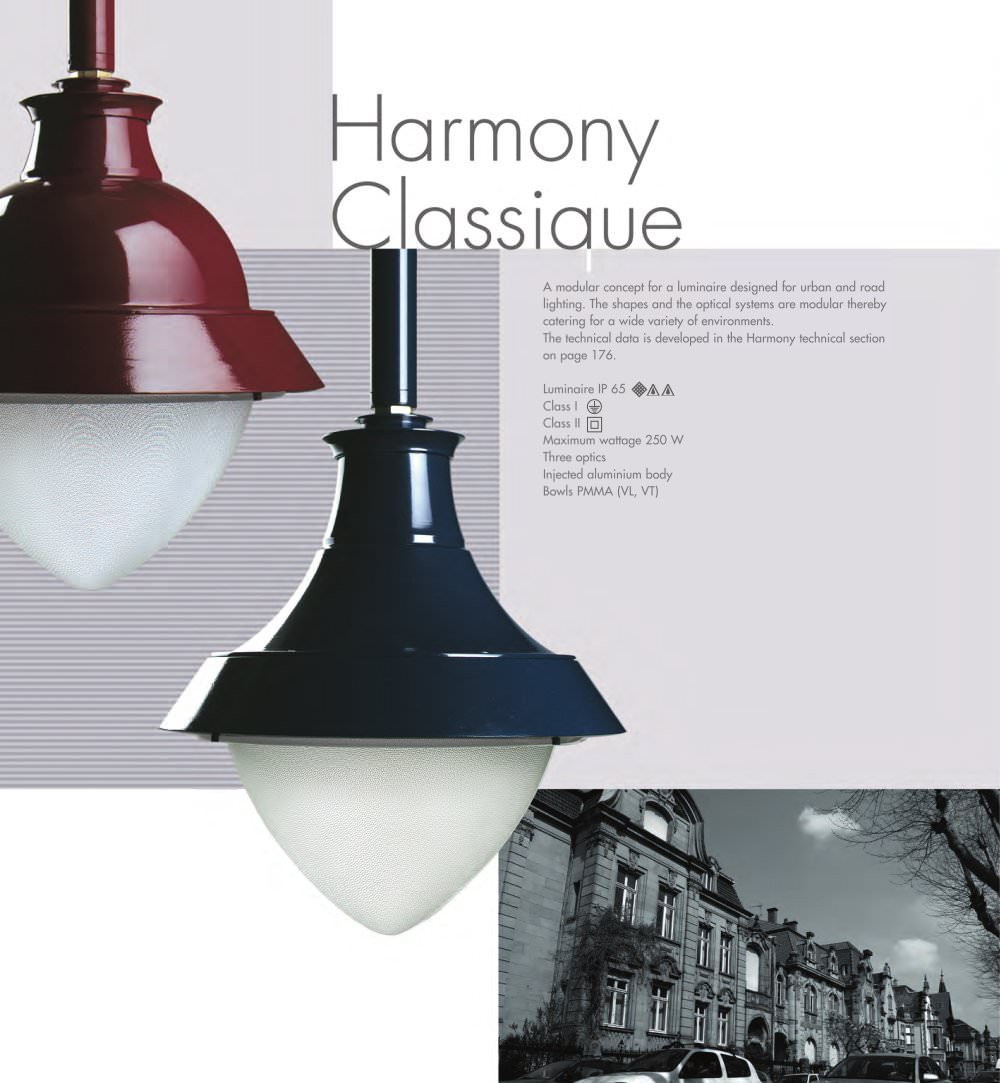 Harmony classique philips lighting france indal pdf catalogues harmony classique 1 2 pages arubaitofo Choice Image
